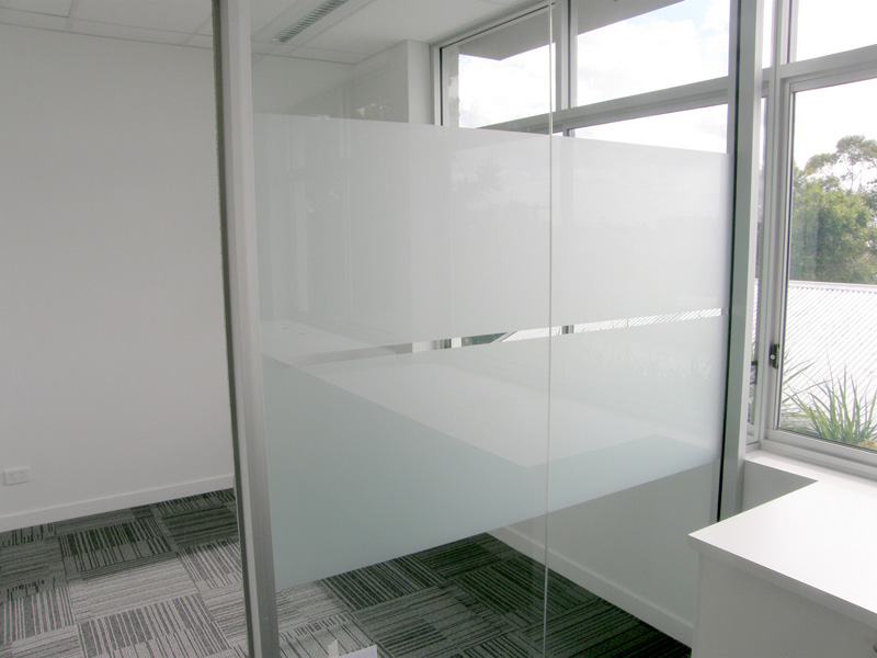 Glass Window Privacy Film Brisbane