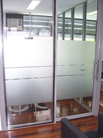 Frosted Glass Film for Doors