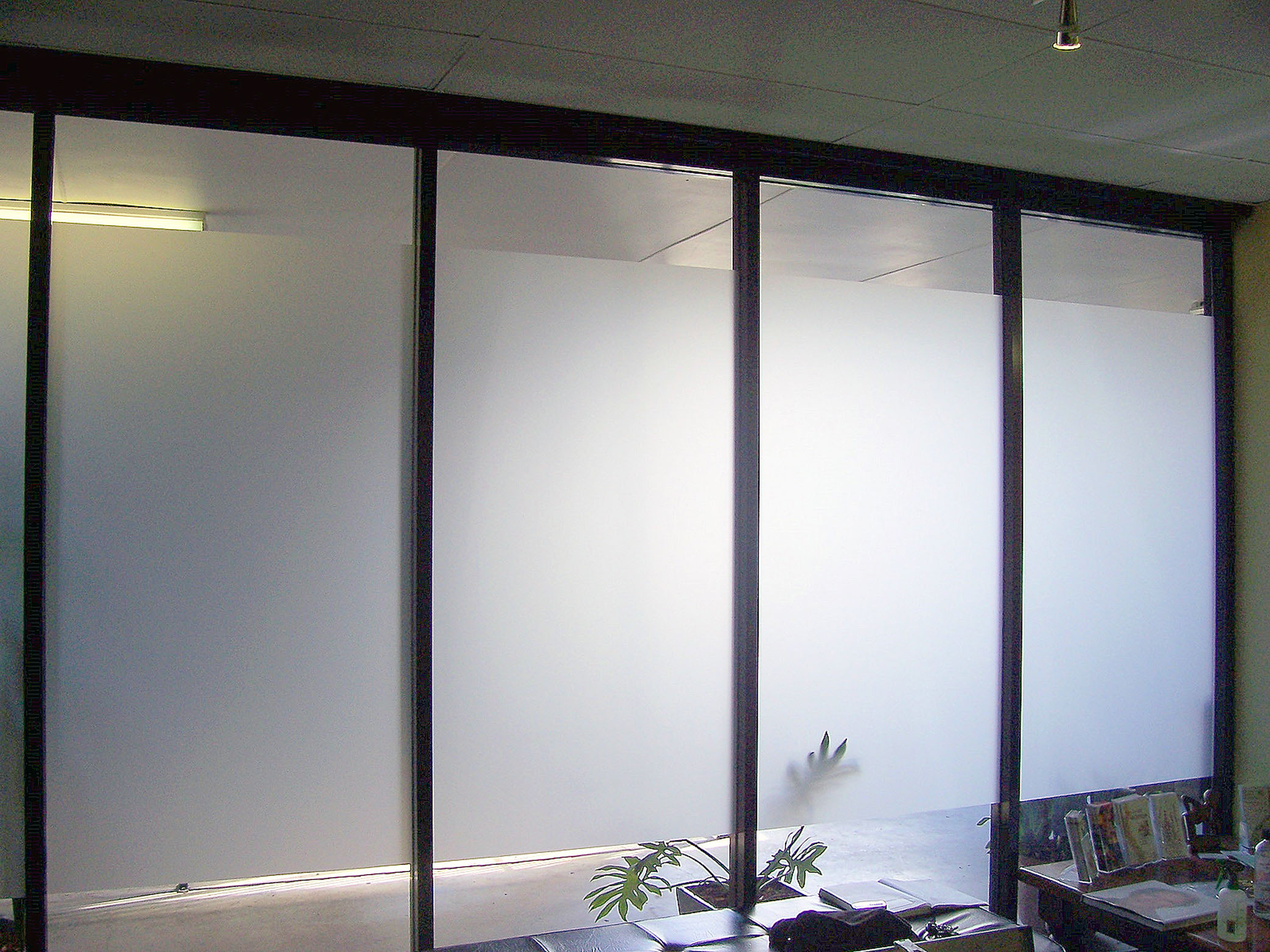 Brisbane window frosting film window frosting brisbane for Office doors with windows